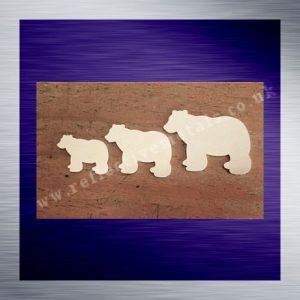 Laser Cut Bears