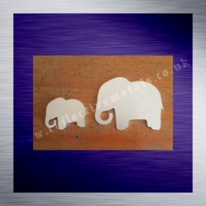 Laser Cut Elephants