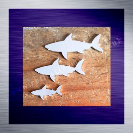 Aluminium Laser Cut Shark