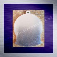 Aluminium Laser Cut Snow Globe