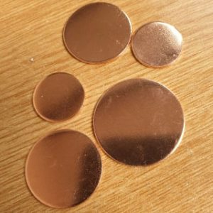 Copper discs