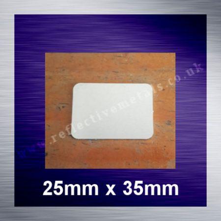 25mm x 35mmRectangle