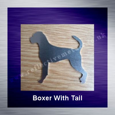 Boxer with tail