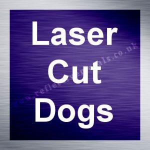 Laser Cut Dogs