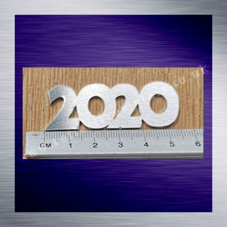 2020 Laser cut from 1.5mm food safe grade aluminium