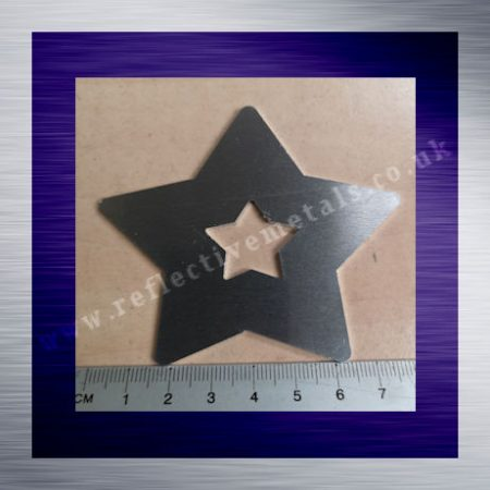 Laser Cut Big Star Washer