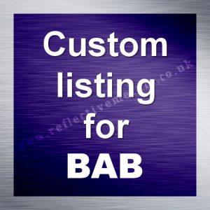 CustomlistingforBAB