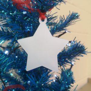 Acrlyic Star Bauble